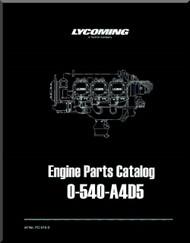 Lycoming O-540- A4D5 Aircraft Engine Parts Manual   PC-515-3