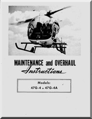 Bell Helicopter 47 G-4 47 G-4A Maintenance and Overhaul   Manual