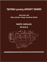 Lycoming IO-540- L1B5  Series Aircraft Engine Parts Manual   PC-615 - 9
