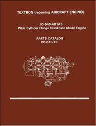 Lycoming IO-540- AB1A5  Series Aircraft Engine Parts Manual   PC-615 - 10
