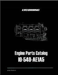 Lycoming IO-540- AE1A5  Series Aircraft Engine Parts Manual   PC-615 - 13