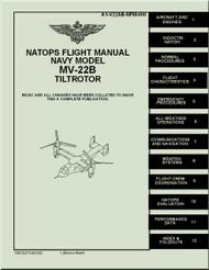 Boeing Aircraft Bell Helicopter MV-22 B TiltRotor  Flight  Manual  TA1-V22AB-NFM-000