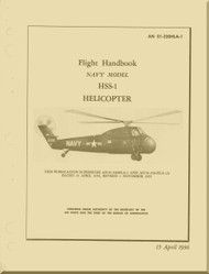 Sikorsky HSS-1 Helicopter Flight Manual - AN 01-230HLA-1  - 1956