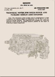 Rolls Royce Merlin Aero Engine Manual