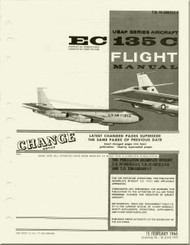 Boeing EC-135C   Aircraft    Flight  Manual  - T.O. 1C-135(E)C1 - 1966