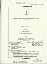 Yakovlev Yak-9  Aircraft  Pilot's  Operational  Manual ,     (English   Language ) - 1952