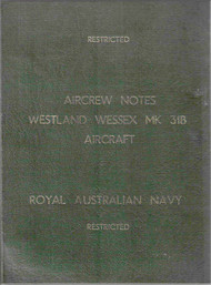 Westland Wessex Mk31B  Helicopter Aircrew Notes Manual  -