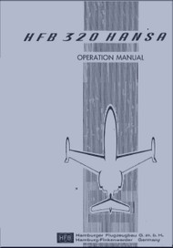 HFB 320 Hansa Jet  Aircraft Operation  Manual