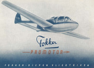 Fokker F-25   Promotor Aircraft  Technical Brochure Manual -