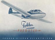 Fokker F-25   Promotor Aircraft  Technical Brochure Manual -