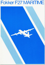 Fokker  F-27  Maritime   Technical Brochure   Manual -