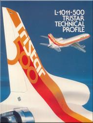 Lockheed L-1011 -500 Tristar  Aircraft Technical Brochure  Manual