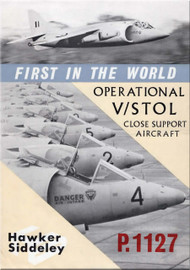 Hawker Siddeley P.1127 Aircraft Operational V / Stol Close Support Technical Brochure Manual