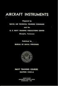 Aircraft Instruments NAVY Training Courses Manual  - 1954 - NAVPERS 10333-A