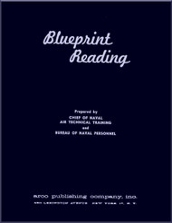 Aircraft Blueprints Reading   NAVY Training Courses Manual  - 1957
