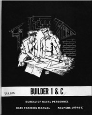 Aircraft Builder 1 & C    NAVY Training Courses Manual  - 1959 - NAVPERS 10649-E