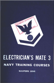 Aircraft Electrician's Mate 3 NAVY Training Courses Manual  - 1950 - NAVPERS 10548