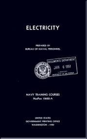 Aircraft Electricity  NAVY Training Courses Manual  - 1950- NAVPERS 10622-A