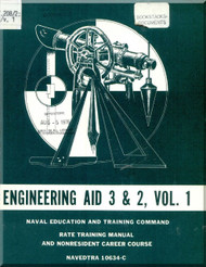 Engineering Aid 3 & 2 , Vol.1  NAVY Training Courses Manual  - 1976 - NAVPERS 10634-A