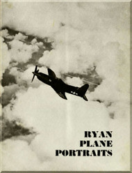Ryan Airplane Portrait Technical Brochure Manual
