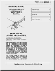 Bell Helicopter OH-58 D  Helicopter  Aviation Unit and Intermediate Maintenance Manual  - TM 55-1520-248-23-1