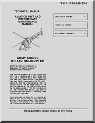Bell Helicopter OH-58 D  Helicopter  Aviation Unit and Intermediate Maintenance Manual  - TM 55-1520-248-23-3
