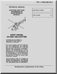 Bell Helicopter OH-58 D  Helicopter  Aviation Unit and Intermediate Maintenance Manual  - TM 55-1520-248-23-4