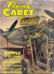 Aviation - Aircraft Flying Cadet  Magazines - January 1944