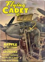 Aviation - Aircraft Flying Cadet  Magazines - January 1944
