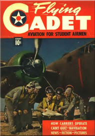 Aviation - Aircraft Flying Cadet  Magazines - August 1943
