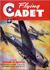 Aviation - Aircraft Flying Cadet  Magazines - January 1943
