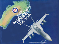 Mc Donnell Douglas F / A -18 A   Technical  Brochure Manual  -  The Australian Hornet