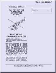 Bell Helicopter OH-58 D  Helicopter  Aviation Unit and Intermediate Maintenance Manual  - TM 55-1520-248-23-7