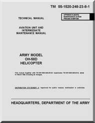 Bell Helicopter OH-58 D  Helicopter  Aviation Unit and Intermediate Maintenance Manual  - TM 55-1520-248-23-8-1