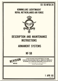 Northrop NF-5 B Aircraft Description and Maintenance Instructions - Armament Systems Manual - EO 05-NF5B-2H - 1969