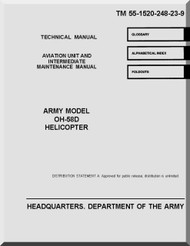Bell Helicopter OH-58 D  Helicopter  Aviation Unit and Intermediate Maintenance Manual  - TM 55-1520-248-23-9