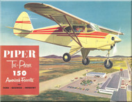Piper Aircraft   Pa-22 Tri-Pacer  Owner's and Brochures Manuals