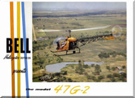Bell Helicopter 47 G-2 Technical Brochure Manual -
