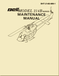 Bell Helicopter 214 B Maintenance  Manual -