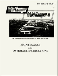Bell Helicopter 206 A / B  Maintenance and Overhaul Instructions   Manual
