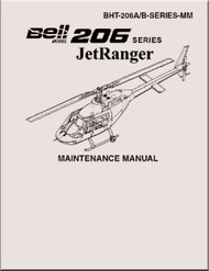 Bell Helicopter 206 A / B  Maintenance  Manual