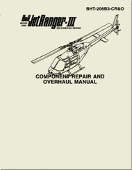 Bell Helicopter 206  B  Component Repair and Overhaul Manual