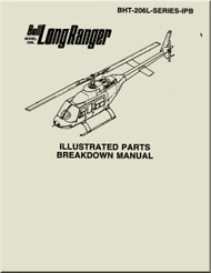 Bell Helicopter 206 L Series   Illustrated Parts Breakdown  Manual -