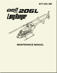 Bell Helicopter 206 L  Maintenance Manual