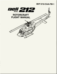 Bell Helicopter 212 CAA Flight  Manual -