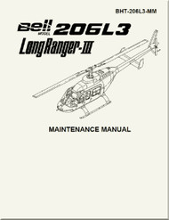 Bell Helicopter 206 L3  Maintenance Manual