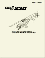 Bell Helicopter 230  Maintenance Manual