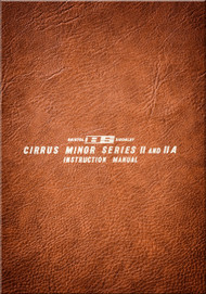 Bristol Cirrus Minor Series II Aircraft Engine Instruction  Manual
