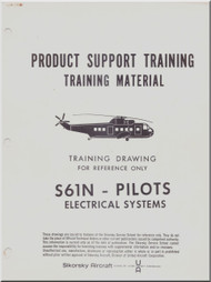 Sikorsky  S61 N Helicopter Training Maintenance Manual - Pilots Electrical Systems