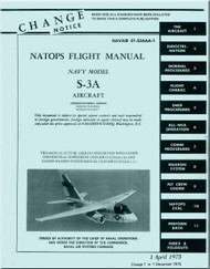 Lockheed S-3 A   Aircraft  Flight Manual, -1975 - NAVAIR 01-S3AAA-1